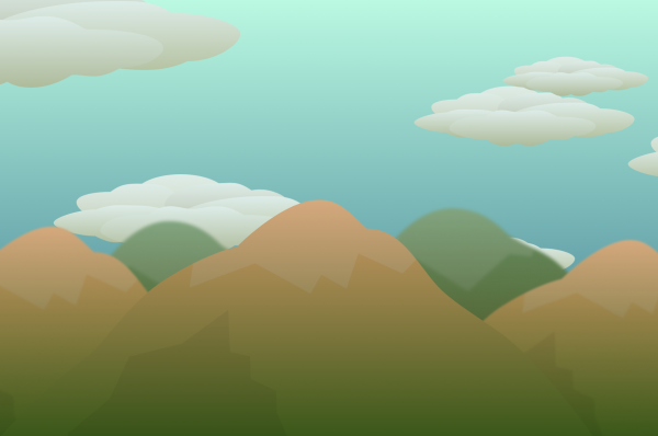 CSS and SVG Landscape Animation